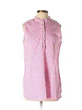 Toss Designs Sleeveless Button-Down Shirt Size M