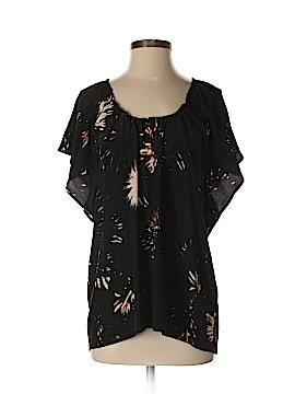 Ulla Johnson Short Sleeve Silk Top Size 6
