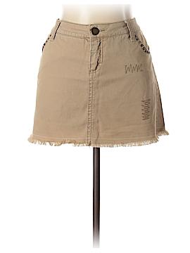 Twill Twenty Two Denim Skirt 30 Waist