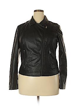 American Rag Cie Faux Leather Jacket Size XXL