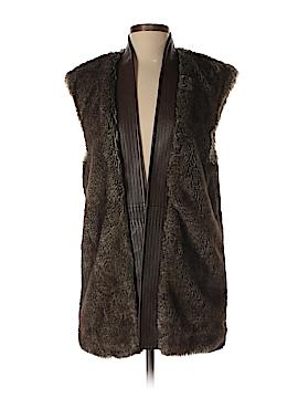 Cynthia Steffe Faux Fur Vest Size XS
