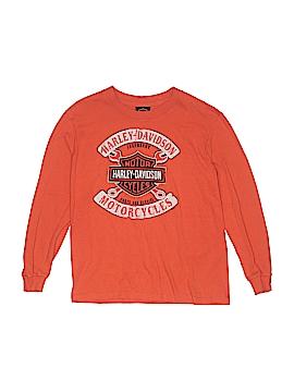 Harley Davidson Long Sleeve T-Shirt Size M (Youth)