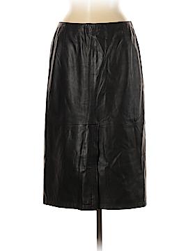 Armani Collezioni Leather Skirt Size 8