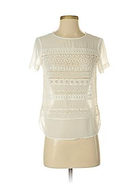 Ann Taylor Short Sleeve Blouse Size XXS (Petite)