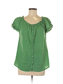Hannah Short Sleeve Button-Down Shirt Size S
