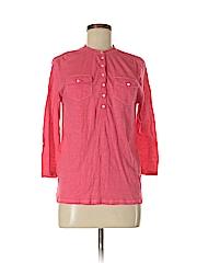 Aeropostale Women Long Sleeve Henley Size M