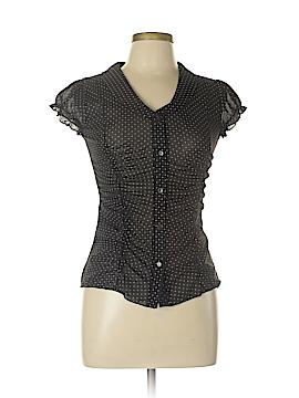Agaci-Too Short Sleeve Blouse Size L