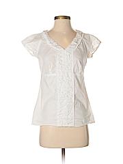 Talbots Women Short Sleeve Blouse Size 2