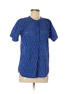 J. Crew Short Sleeve Blouse Size M