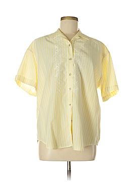 Lizwear by Liz Claiborne Short Sleeve Blouse Size M