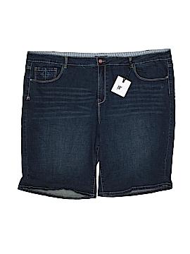 NANETTE Nanette Lepore Denim Shorts Size 22 (Plus)