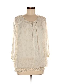 Prontomoda Giusy 3/4 Sleeve Blouse Size M