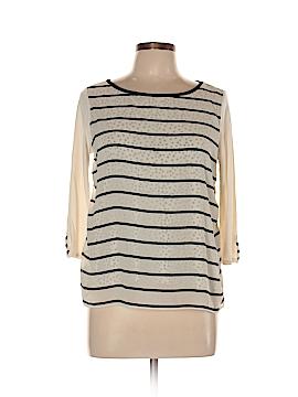 Ann Taylor LOFT 3/4 Sleeve Blouse Size L (Petite)