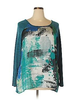 Bobeau Pullover Sweater Size 1X (Plus)