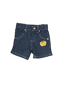 Apple Bottoms Denim Shorts Size 0-3 mo
