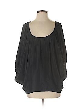 Chelsea Flower 3/4 Sleeve Silk Top Size S