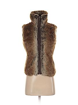 Esprit Faux Fur Vest Size XS