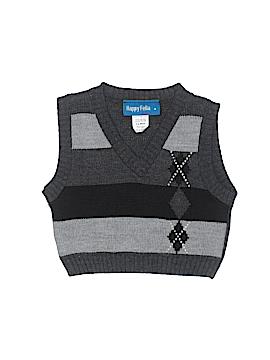 Happy Fella Sweater Vest Size 12 mo