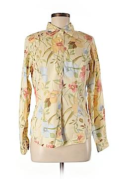 Lizwear by Liz Claiborne Long Sleeve Button-Down Shirt Size 8