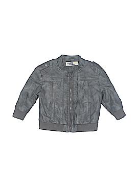 OshKosh B'gosh Faux Leather Jacket Size 12 mo