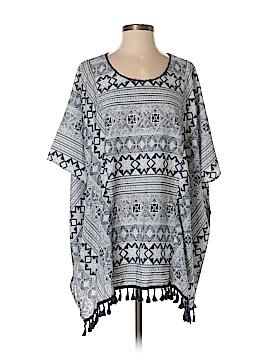Kori America Short Sleeve Blouse Size Sm - Med