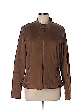 Odyn Faux Leather Jacket Size L
