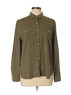 Ann Taylor LOFT Long Sleeve Blouse Size L (Petite)