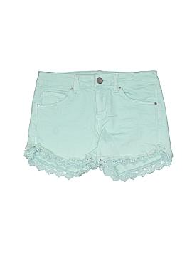 Tinsel Denim Couture Denim Shorts 24 Waist