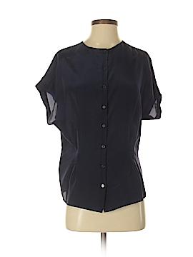 Reiss Short Sleeve Silk Top Size 2