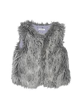 3 Pommes Faux Fur Vest Size 5T