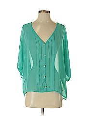 Tini Lili Women 3/4 Sleeve Blouse Size S