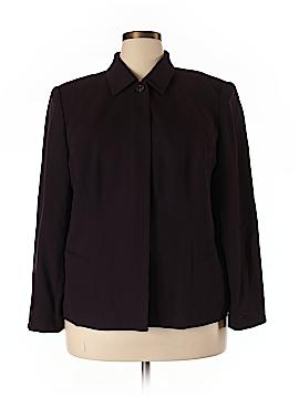 Valerie Stevens Wool Blazer Size 18 (Plus)