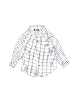 Blueberi Boulevard Long Sleeve Button-Down Shirt Size 12 mo