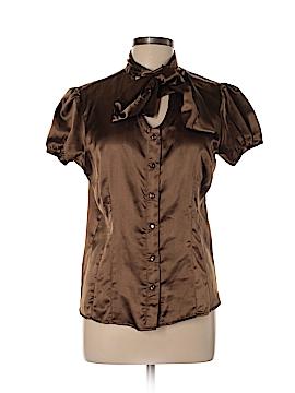 Chadwicks Short Sleeve Blouse Size 10