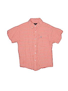 IZOD Short Sleeve Button-Down Shirt Size 5/6
