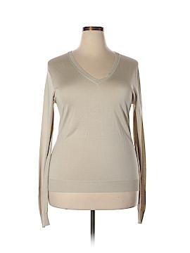 Class Roberto Cavalli Silk Pullover Sweater Size 18 (Plus)