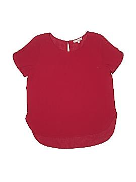 June & Hudson Short Sleeve Blouse Size 1