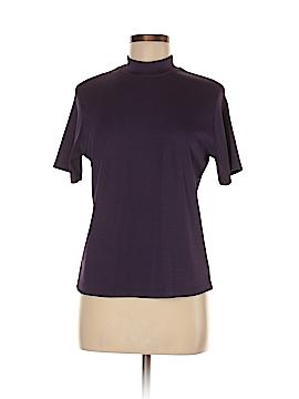 Impressions Short Sleeve Blouse Size M