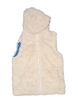 Mini Boden Faux Fur Vest Size 7 - 8