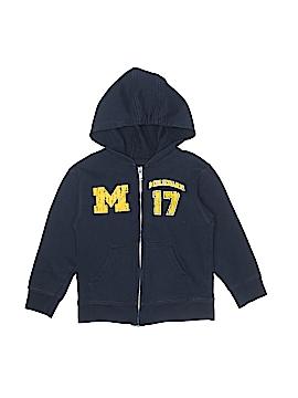 College Kids Zip Up Hoodie Size 4T