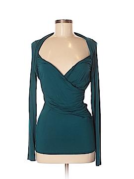 Velvet Long Sleeve Top Size M