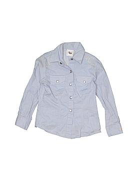 Cruel Girl Long Sleeve Button-Down Shirt Size X-Small (Kids)