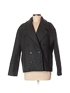 J. Crew Wool Coat Size 8 (Petite)