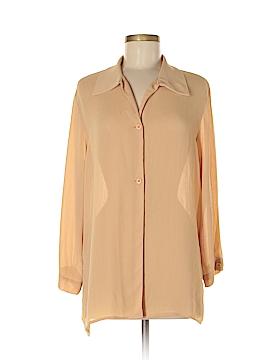 Rena Rowan Long Sleeve Blouse Size 6
