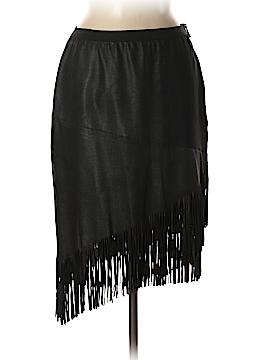 Elie Tahari Leather Skirt Size 6