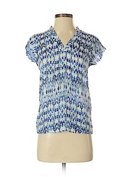 Massimo Dutti Short Sleeve Blouse Size 2