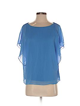 Ann Taylor Short Sleeve Blouse Size 2 (Petite)