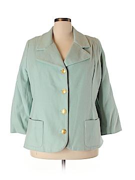 Bloomingdale's Wool Blazer Size 24W (Plus)
