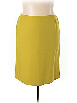 Dana Buchman Wool Skirt Size 24 (Plus)