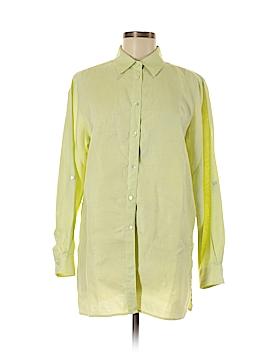 Valerie by Valerie Stevens Long Sleeve Button-Down Shirt Size M